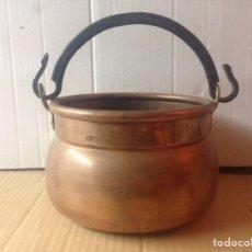Antigüedades: CALDERO DE COBRE. Lote 78415194