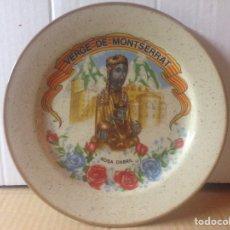 Antigüedades: PLATO VERGE DE MONSERRAT 24 CMS. Lote 78417234