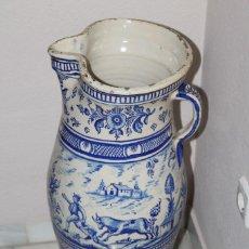 Antigüedades: GRAN JARRON EN CERAMICA DE TRIANA S.XIX. Lote 78418681