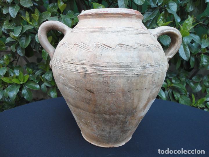 ALFARERÍA CATALANA: GERRA (ORZA) DE FIGUERES (Antigüedades - Porcelanas y Cerámicas - Catalana)