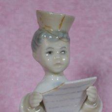 Antigüedades - Lladro porcelana Monaguillo Leyendo, no esta catalogada - 78449909