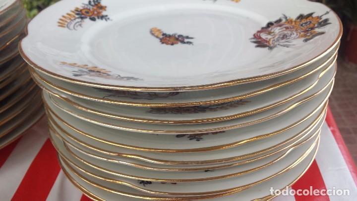 Antigüedades: preciosa vajilla de limoges. - Foto 6 - 78454105