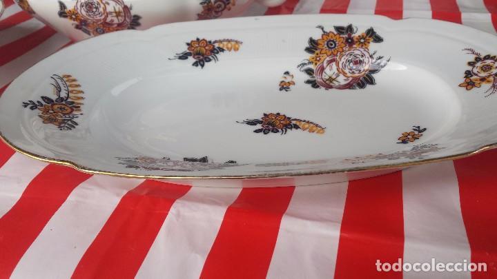 Antigüedades: preciosa vajilla de limoges. - Foto 15 - 78454105
