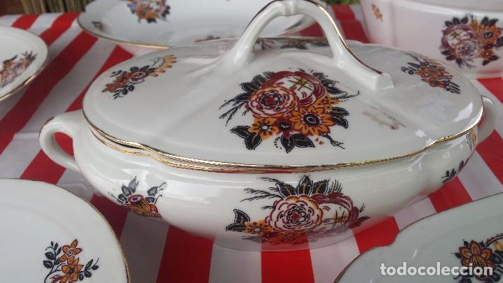 Antigüedades: preciosa vajilla de limoges. - Foto 16 - 78454105