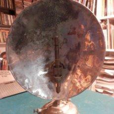 Antigüedades: ANTIGUA ESTUFA O LAMPARA DE QUEROSENO DE METAL - B.A. HJORTH (MADE IN SWEDEN) VER FOTOS. Lote 78501701
