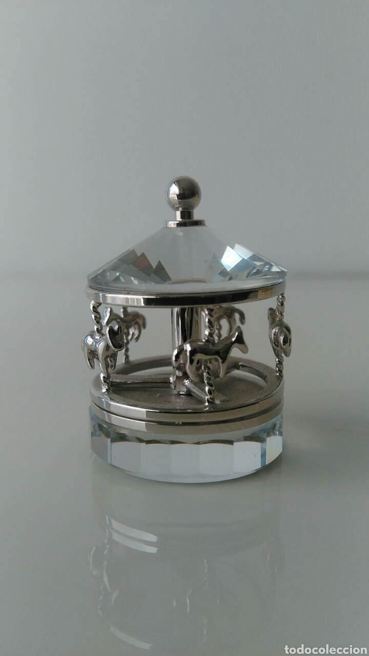 Antigüedades: Miniatura cristal Swarovski - Foto 2 - 78541893