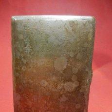 Antigüedades: PITILLERA DE PLATA. PORTA MARCAS DE JOYERO O PLATERO.. Lote 78550557