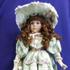 Muñecas Porcelana: MUÑECA PORCELANA DE 60 CM,EDICION NUMERADA Y LIMITADA,CON SOPORTE. Lote 78579029