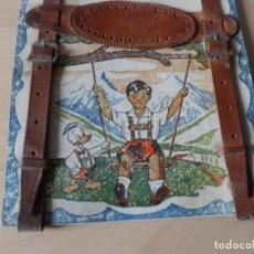 Antigüedades: ANTIGUOS TIRANTES DE CUERO PARA NIÑOS AÑOS 40- 50. Lote 78658877