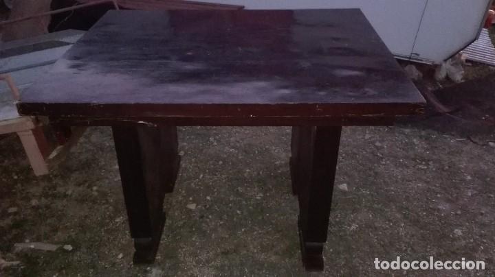 Antigüedades: mesa art deco - Foto 2 - 78666241