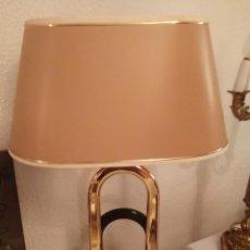 Antigüedades: LAMPARA DE MESA MARCA TRIAM. Lote 78678937