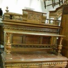 Antigüedades: TRINCHERO ANTIGUO TALLADO. Lote 78687051