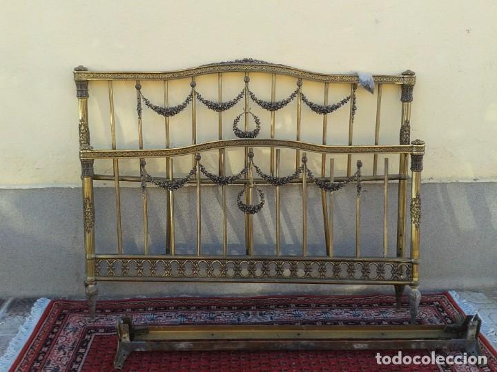 Antigüedades: silla antigua de metal estilo isabelino, silla metálica isabelina retro vintage, silla descalzadora - Foto 12 - 78695665