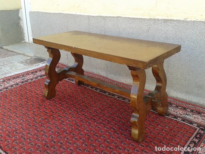 Mesa de centro de sal n mesa auxiliar antigua p vendido for Mesas de centro antiguas