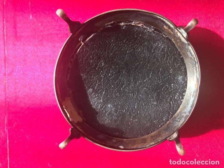 Antigüedades: Antiguo joyero inglés realizado en plata y Carey. Año 1924 - Foto 4 - 78821605