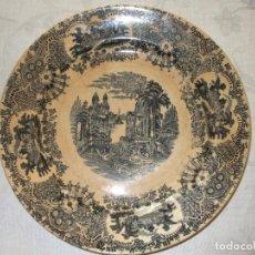 Antigüedades: ANTIGUO PLATO PICKMAN CARTUJA SEVILLA. Lote 78826357