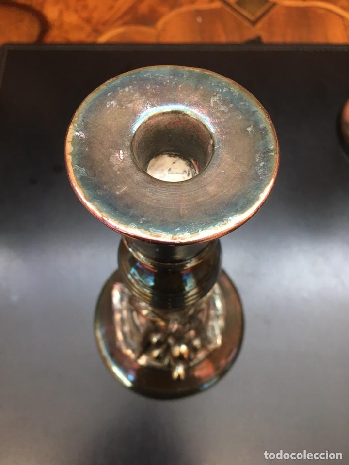 Antigüedades: Candelabros-plata-decoracion-frutal - Foto 9 - 54771162
