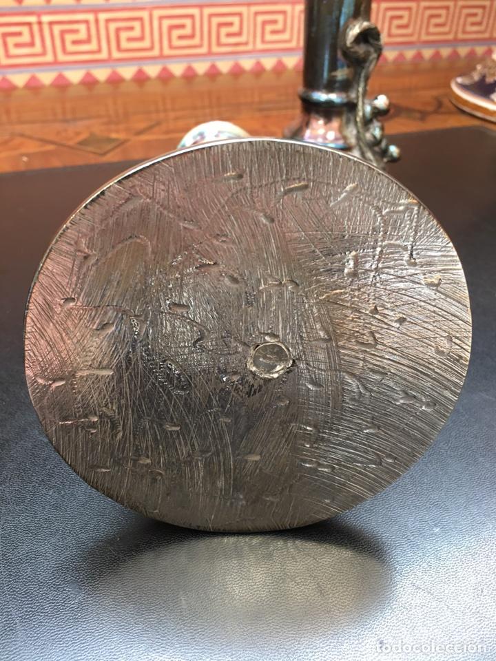 Antigüedades: Candelabros-plata-decoracion-frutal - Foto 11 - 54771162
