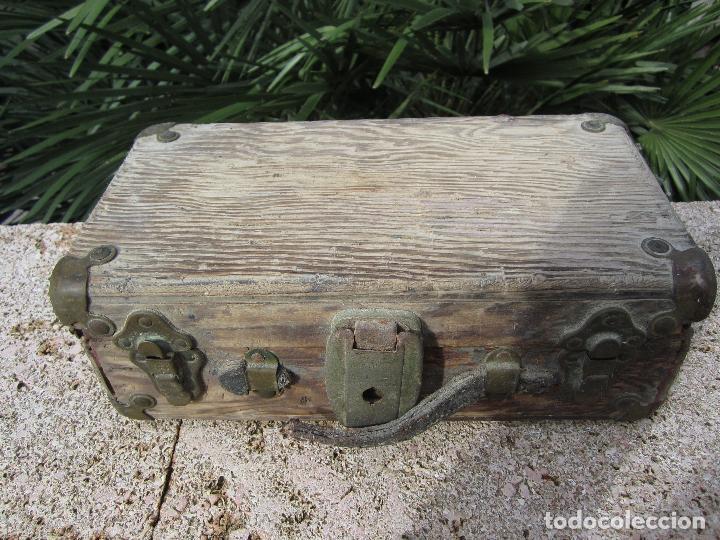 Antigüedades: Antiguo baúl madera - Foto 2 - 78880861
