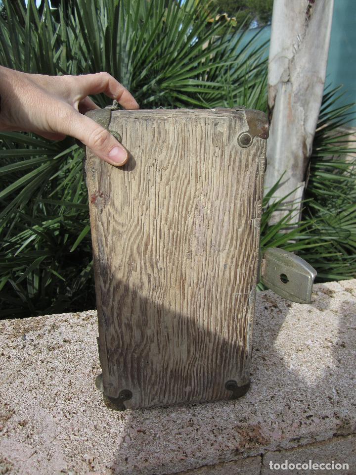Antigüedades: Antiguo baúl madera - Foto 6 - 78880861