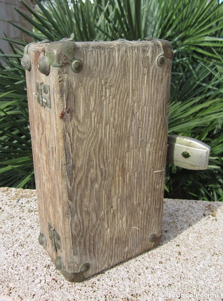 Antigüedades: Antiguo baúl madera - Foto 8 - 78880861