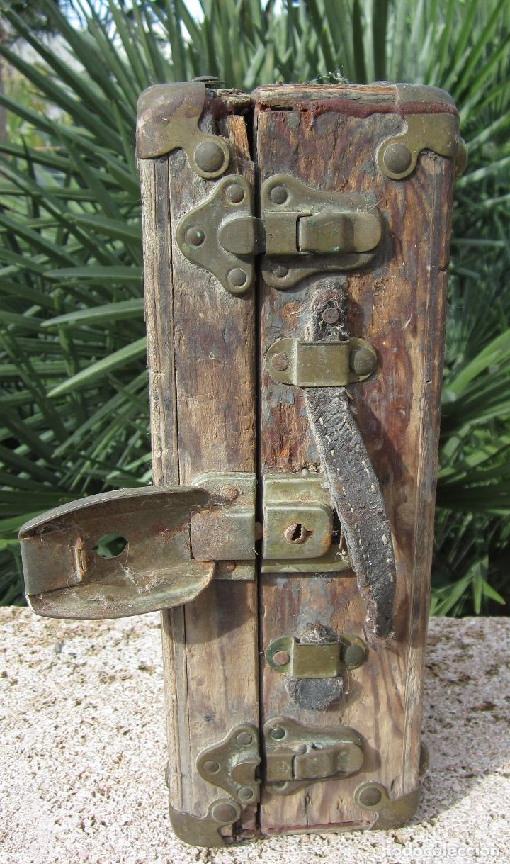 Antigüedades: Antiguo baúl madera - Foto 9 - 78880861