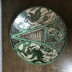 Antigüedades: PLATO CERÁMICA PUNTER. Lote 79050862