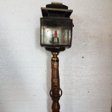 Antigüedades: FAROL CON PIE. Lote 79062877