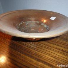 Antigüedades: ANTIGUO PLATO ESCUDELLA FRUTERO DE COBRE 51. Lote 79107193