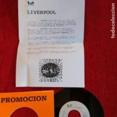 Discos de vinilo: LIVERPOOL .- NO TE ENAMORES DE MÍ + HOJA PROMO. Lote 79122293