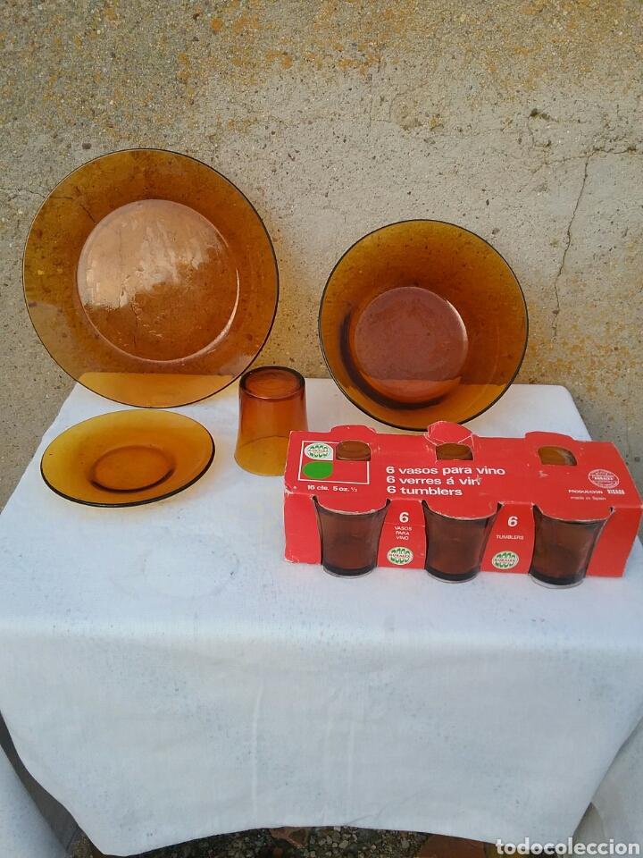 Vajilla vintage de caramelo comprar platos antiguos en for Vajilla retro