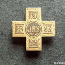 Antigüedades: CRUZ DE SOLAPA JHS 22 X 22 MM. Lote 79176509