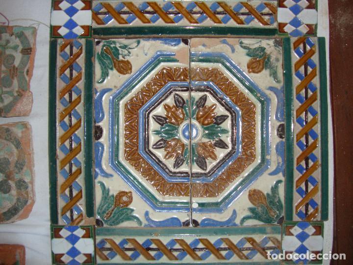 Antigüedades: Composicion de azulejos - Foto 2 - 79176553