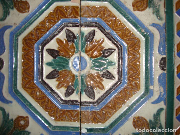 Antigüedades: Composicion de azulejos - Foto 3 - 79176553