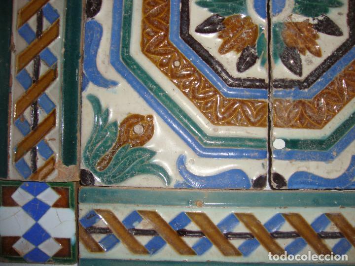 Antigüedades: Composicion de azulejos - Foto 4 - 79176553