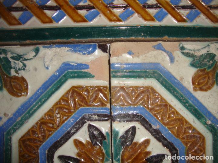 Antigüedades: Composicion de azulejos - Foto 5 - 79176553