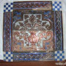 Antigüedades: COMPOSIICION DE AZULEJOS RAMOS REJANO. Lote 79177217