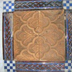 Antigüedades: COMPOSICION DE AZULEJOS. Lote 79178373