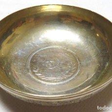 Antigüedades: BOWL PARA EL CAVIAR - PLATA PERSA DEL PRINCIPIO DEL SIGLO XX. Lote 79194305