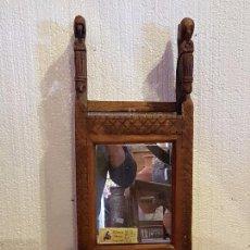 Antigüedades: REPISA CON ESPEJO. Lote 79195569