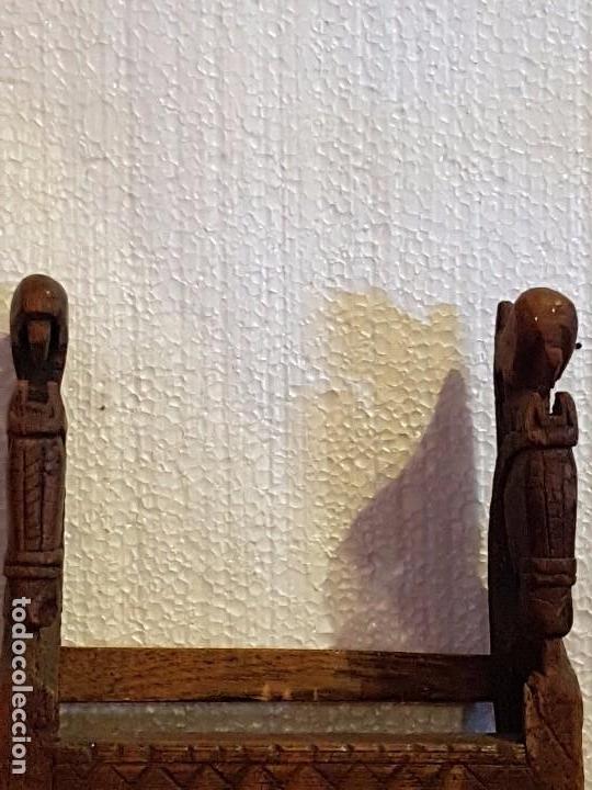 Antigüedades: REPISA CON ESPEJO - Foto 2 - 79195569