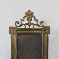 Antigüedades: ANTIGUA SACRA RELIGIOSA DE BRONCE - ESTILO NEOGOTICO - S. XVIII-XIX - . Lote 85955050