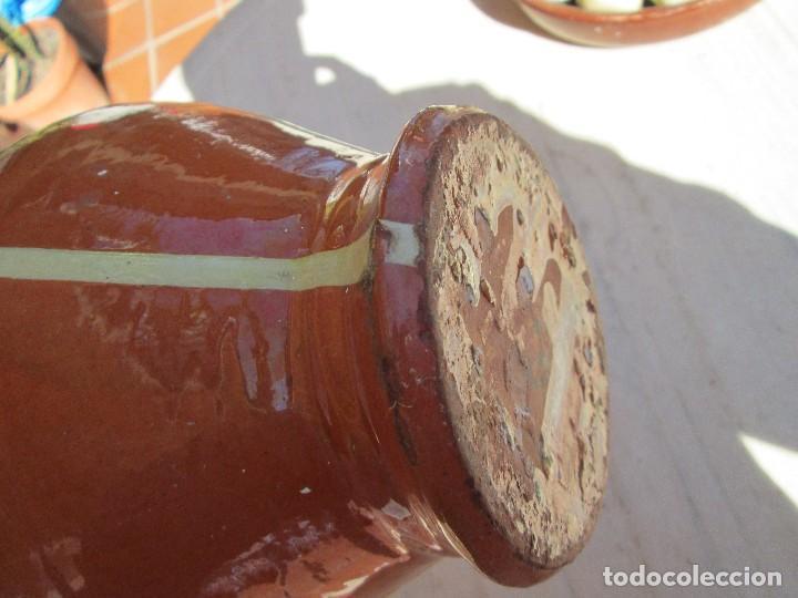 Antigüedades: viejo botijo 24 centimetros de alto - Foto 4 - 79230233