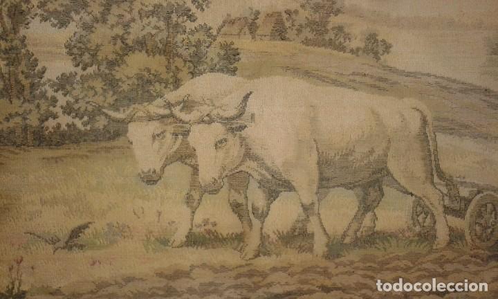 Antigüedades: TAPIZ ANTIGUO ( LABRIEGO ) - Foto 2 - 79237845