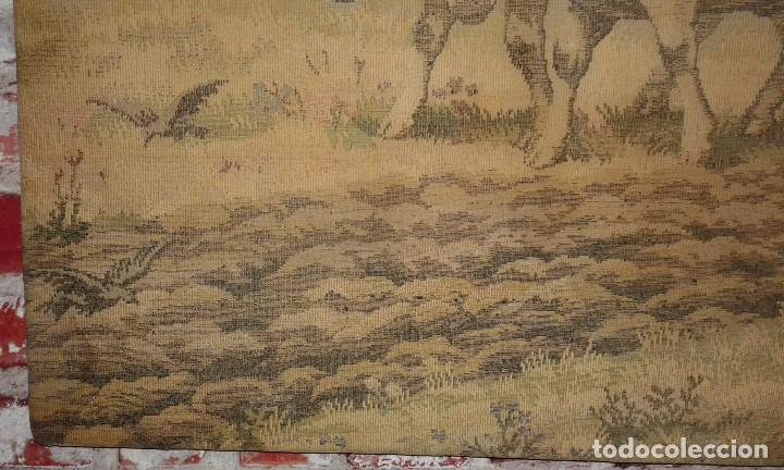 Antigüedades: TAPIZ ANTIGUO ( LABRIEGO ) - Foto 4 - 79237845