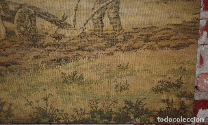 Antigüedades: TAPIZ ANTIGUO ( LABRIEGO ) - Foto 5 - 79237845