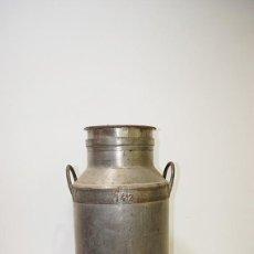 Antigüedades: CÁNTARA DE LECHE ANTIGUA DE HIERRO. Lote 79332005