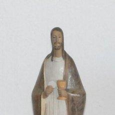 Antigüedades: FIGURA PORCELANA LLADRO JESUS - PAN DE VIDA - BREAD OF LIVE - REF.010.12366 CON CAJA ORIGINAL.. Lote 79345621