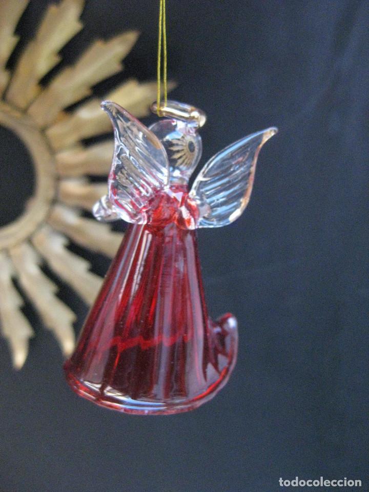 precioso angelito angel en cristal murano idea - Comprar Ornamentos ...