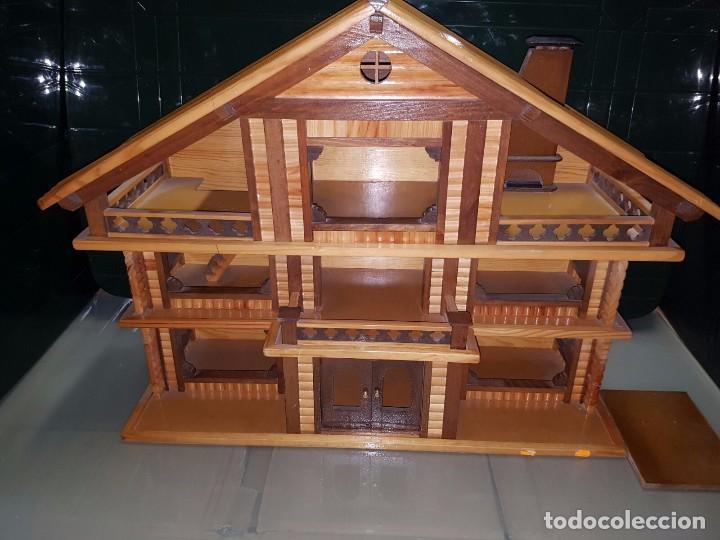 Antigua casa de madera maciza para mu ecas comprar - Casas de madera maciza ...